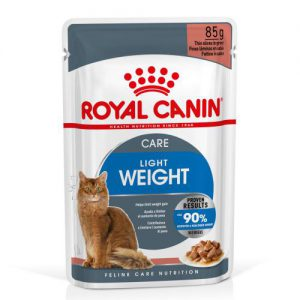 Royal Canin Light Weight Care w sosie - 12 x 85 g